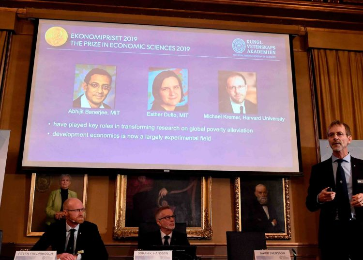 Economists win 2019 Nobel prize for their fight against poverty