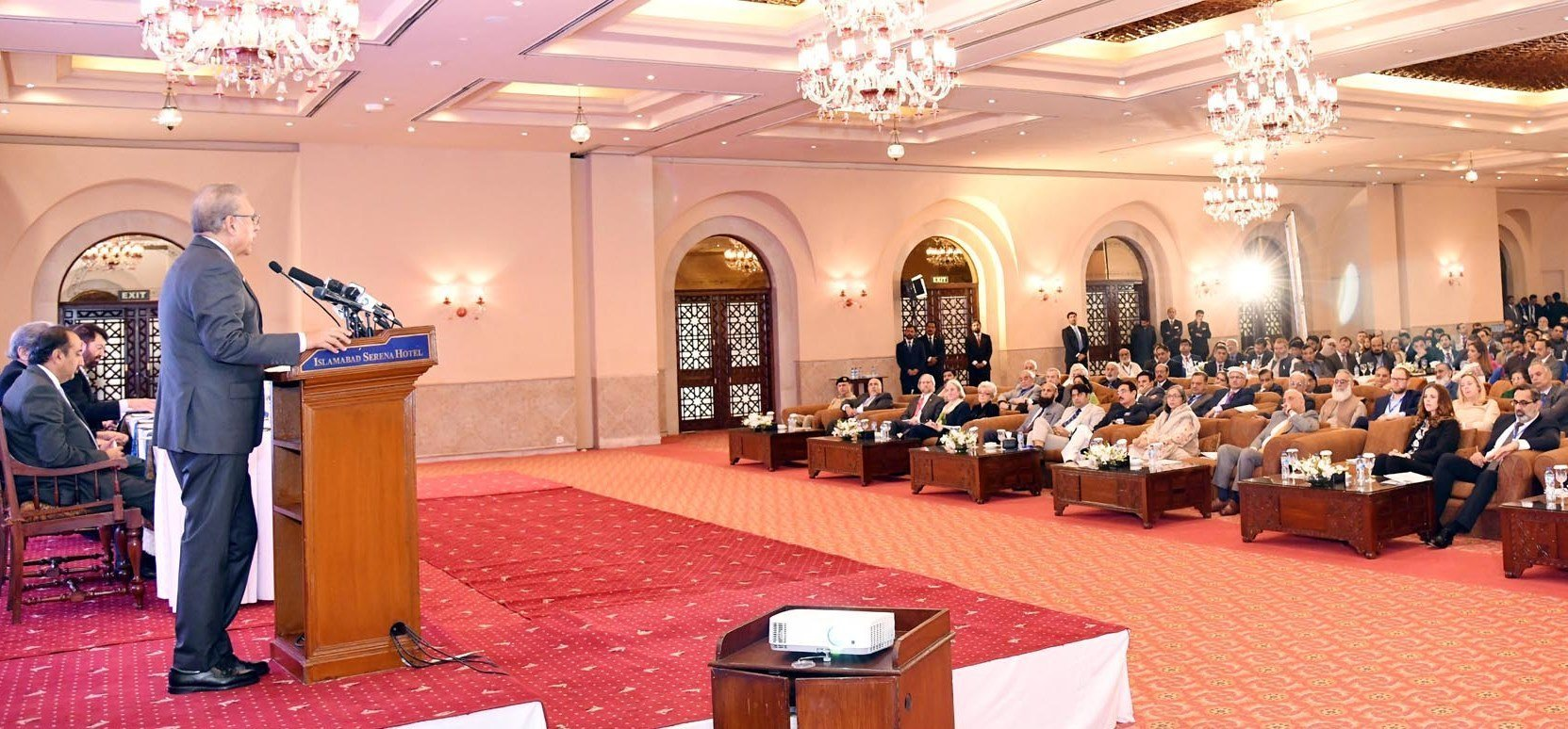 President Dr Arif Alvi suggests quality syllabus, trained teachers, international ranking of institutions and collaboration with foreign institutions