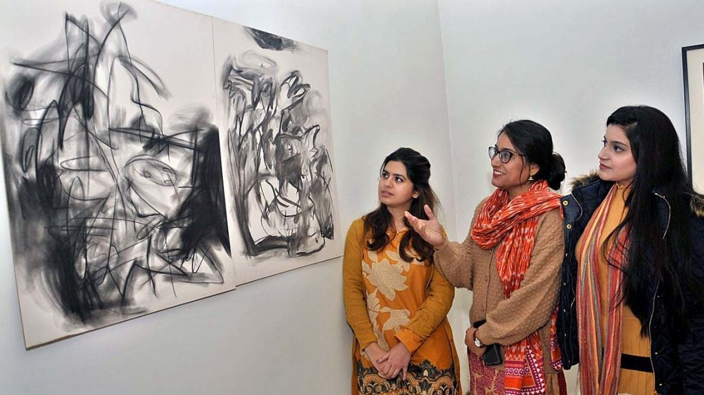 Humanity Clicks exhibition opened at National Art Gallery in Islamabad