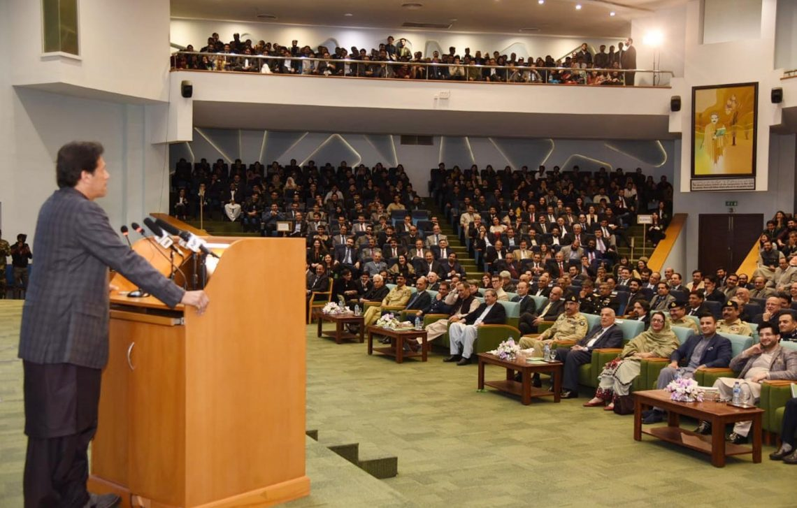 Prime Minister Imran Khan inaugurates Pakistan's first Science and Technology Park at National University of Sciences and Technology in Islamabad