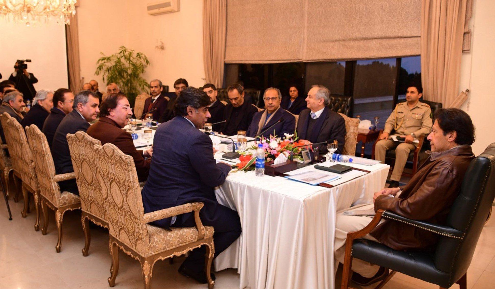All Pakistan Textile Mills Association (APTMA) delegation calls on Prime Minister Imran Khan in Islamabad