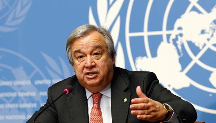 Antonio Guterres will address international conference in Islamabad along with High Commissioner for Refugees Filippo Grandi