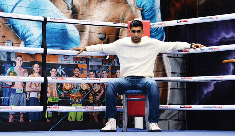 Boxer Amir Khan says foreign boxers will be featuring in Islamabad event
