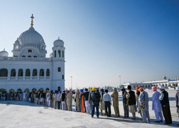 Prime Minister Imran Khan inaugurated a visa-free initiative that allows Sikh pilgrims from India to visit one of their holiest shrines in Pakistan