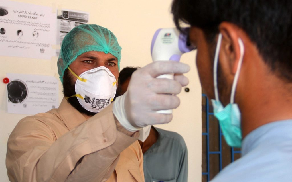 People are following precautionary measures against coronavirus