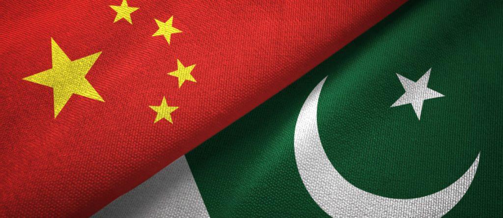 China Pakistan flag