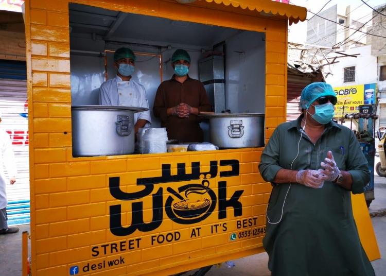 Free Food in Karachi