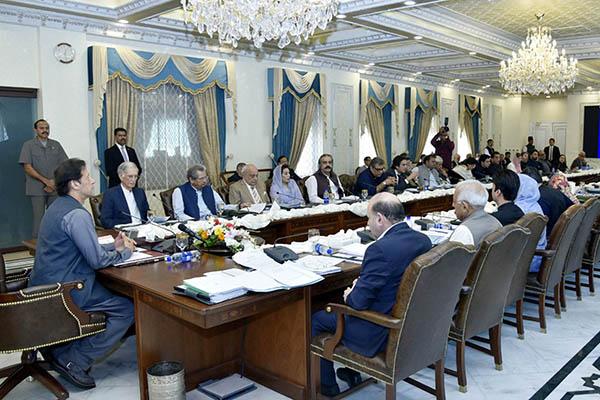 Imran khan meeting on coronavirus