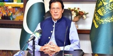 Prime Minister Imran Khan addressing World Economic Forum.