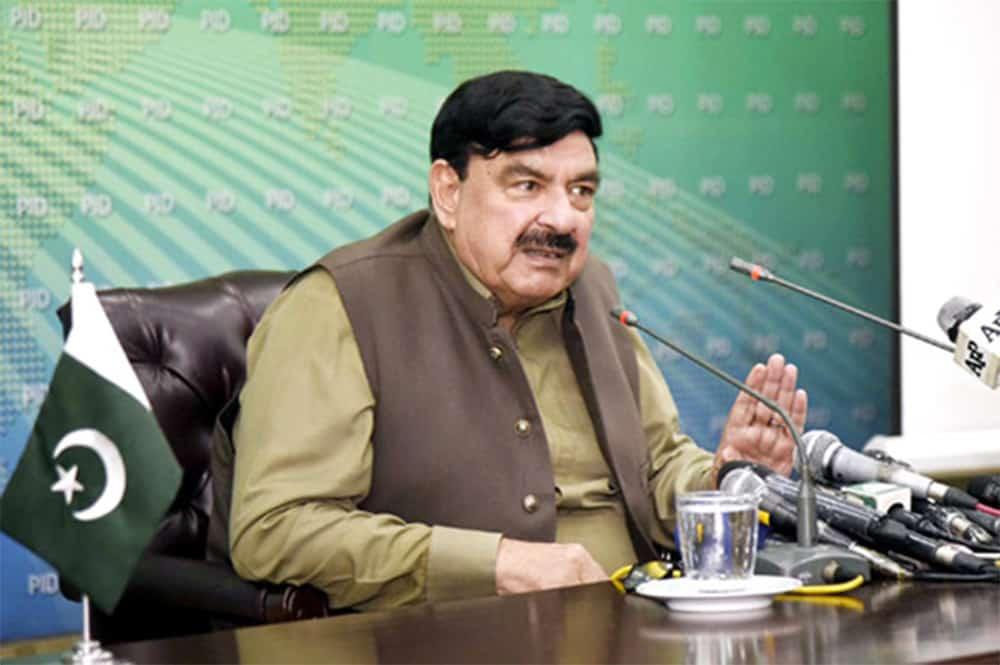 Minister for Railways Sheik Rashid Ahmed on ML-1