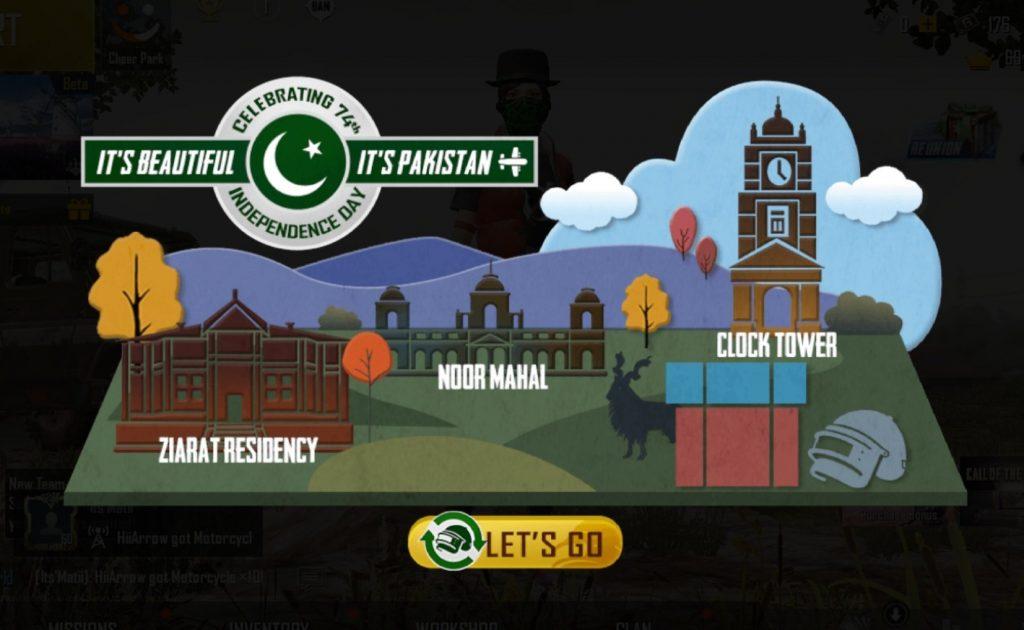 PUBG Celebrates Pakistan independence day
