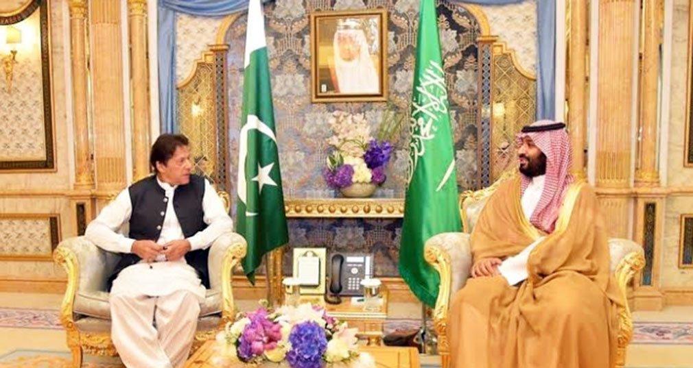 Saudi Arabia's relations with Pakistan