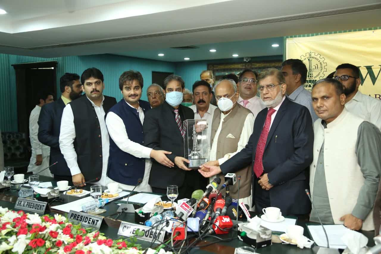 Minister for Interior inaugurated the Passport Office at the Lahore Chamber of Commerce and Industry