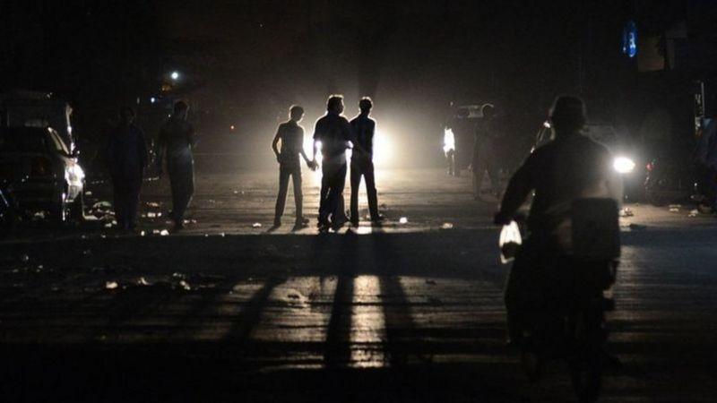 Blackout in Pakistan