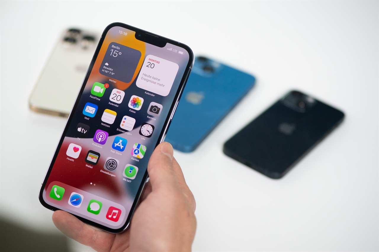 Iphone 13 specs