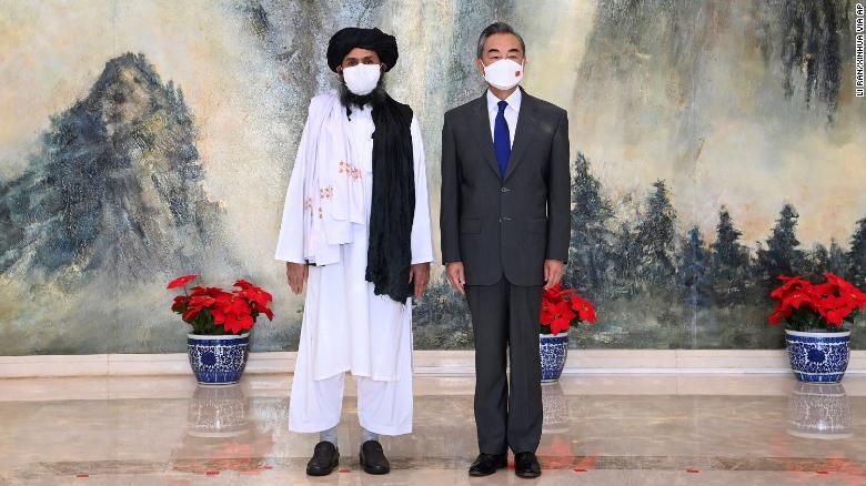 China and Taliban